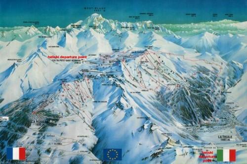 Cartine delle piste La Thuile | La Thuile Valle d'aosta ...